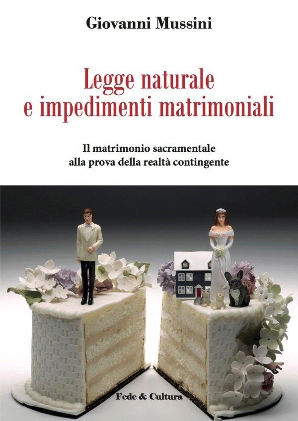 Legge naturale e impedimenti matrimoniali_eBook