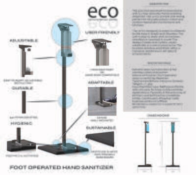 Foot Operated ECO Hand Sanitizer - Price incl. VAT