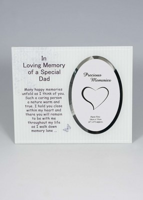 In Loving Memory of a Special Grandad Photo Frame