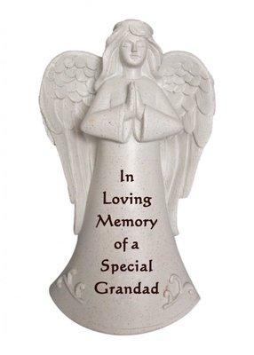 In Loving Memory of a Special Grandad praying angel