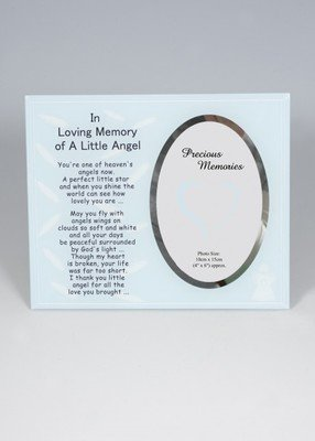 In Loving Memory of a Little Angel photo frame