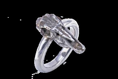 Gemsbok Skull Ring