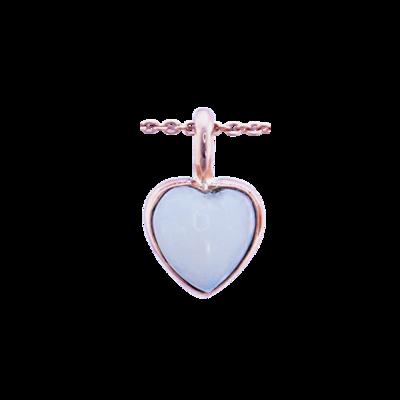 Ethiopian Opal Heart Pendant