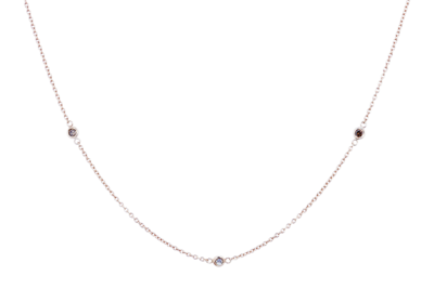 Dash Necklace with Champagne Diamonds (mini)