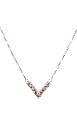 Champagne Diamond Verus Necklace