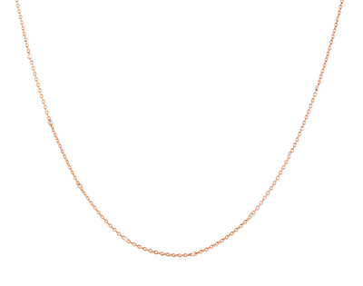 Rosegold Fleck Chain