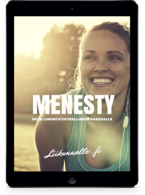 MENESTY - Ilmainen liikuntatieteelliseen hakijan opas