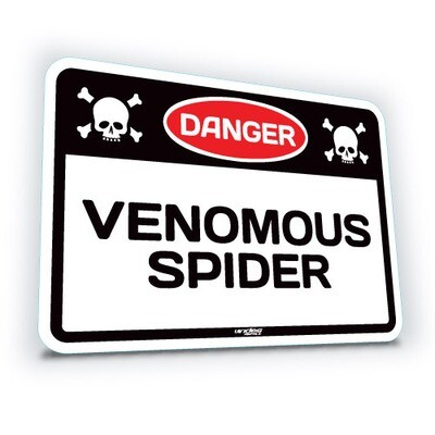 Venomous Spider - Small  (translucent)
