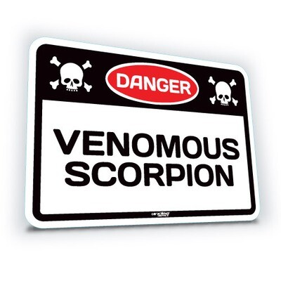 Venomous Scorpion - Small (translucent)