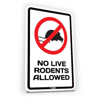 No Live Rodents Allowed