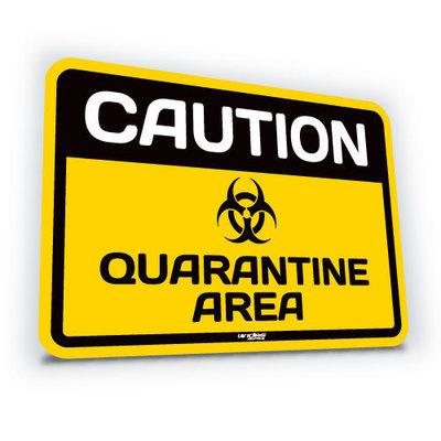 Quarantine Area  - Small (translucent)