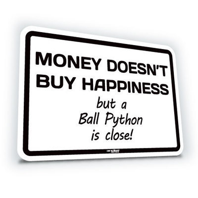 Money Doesn't Buy Happiness... Ball
