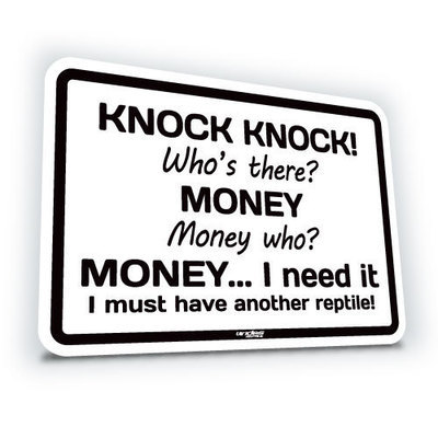 Knock Knock! Who's there? Money...