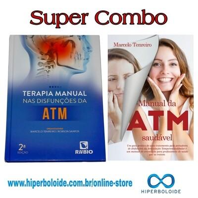 COMBO: Terapia Manual Nas Disfunções Da ATM + Manual da ATM Saudável  - Autor: Marcelo Tenreiro