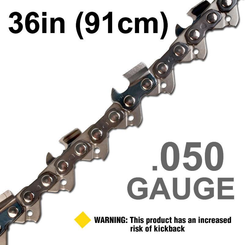 """36""""/91cm .050"""" Gauge"""