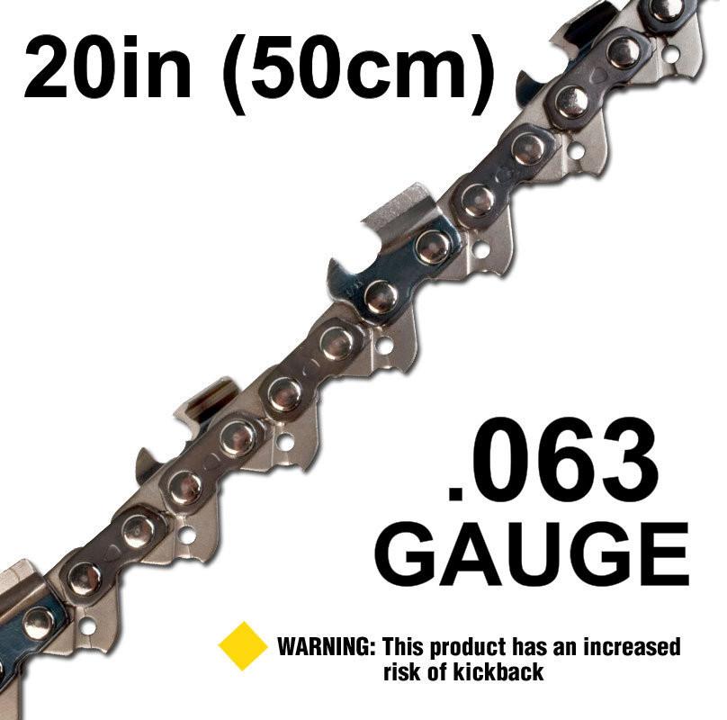"""20""""/50cm .063"""" Gauge"""