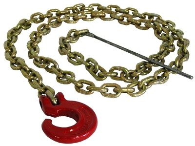 Choker chain 6 mm x 2.1 m with C-Hook and steel rod