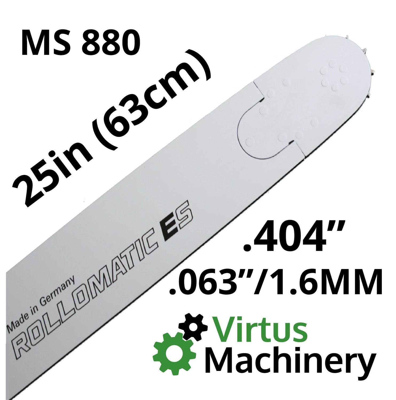"25""/63cm .404"" x (.063""/1.6mm) MS880"