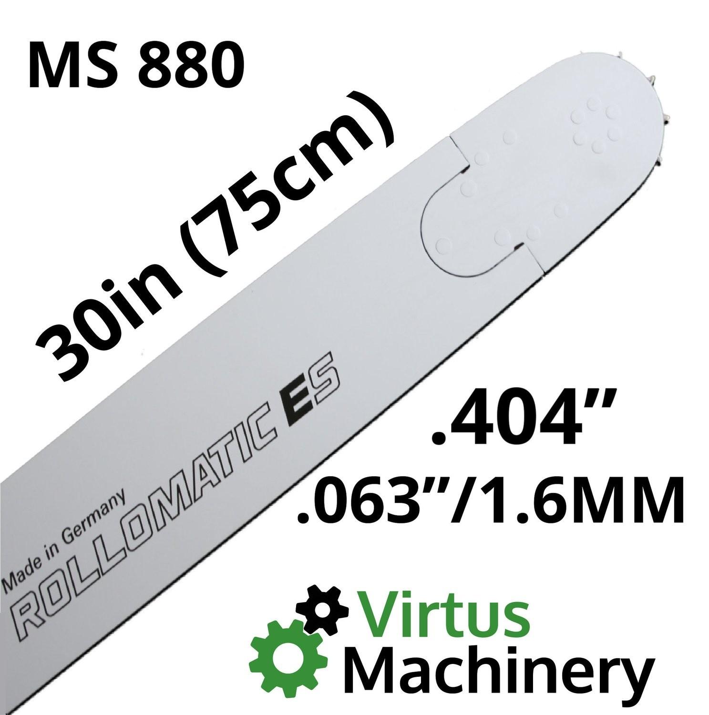 "30""/75cm .404"" x (.063""/1.6mm) MS880"