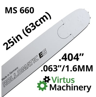 "25""/63cm .404"" x (.063""/1.6mm) MS660"