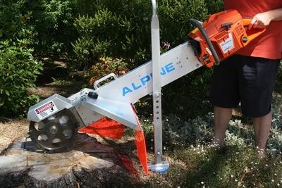 Alpine Magnum Stump Grinder