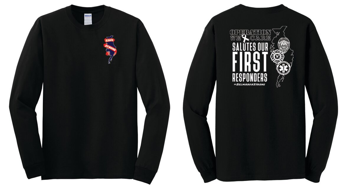 First Responders - Adult Long Sleeve T-Shirt