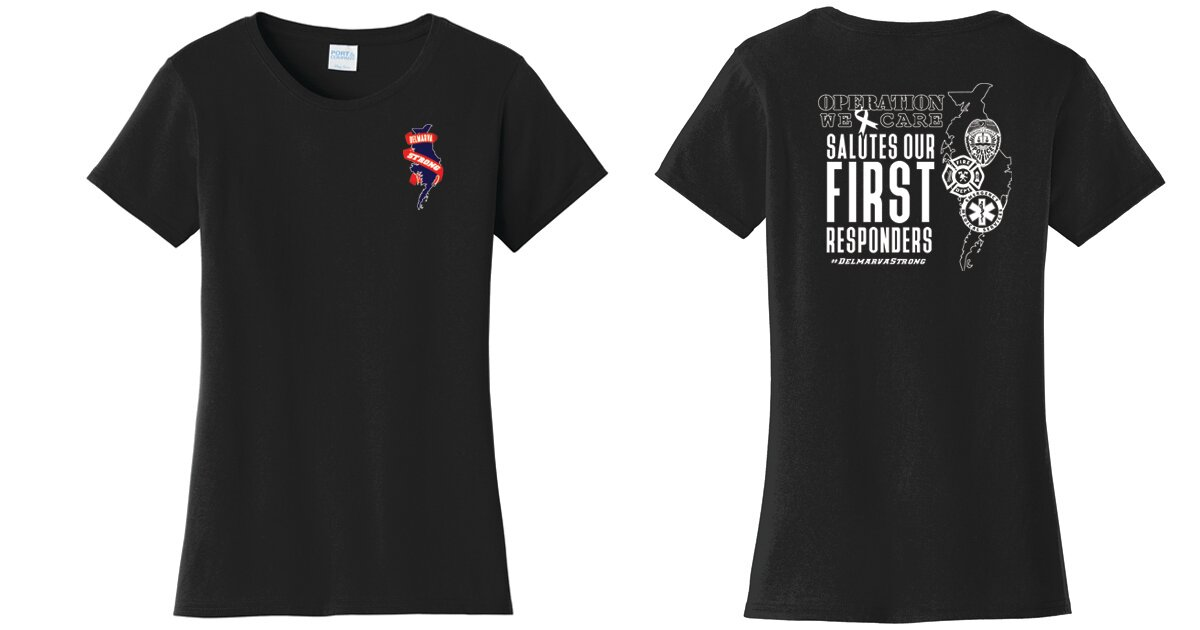 First Responders - Ladies Tee