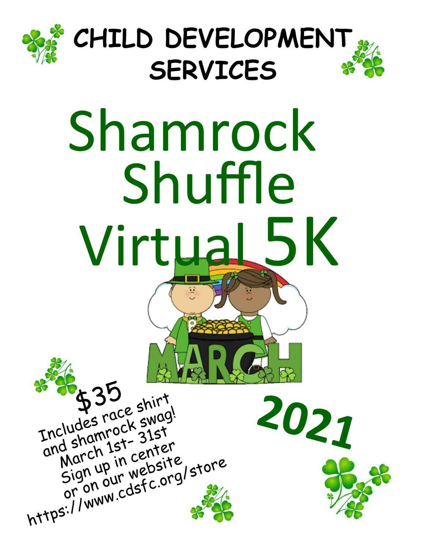 Shamrock Shuffle Virtual 5K Entry Ticket