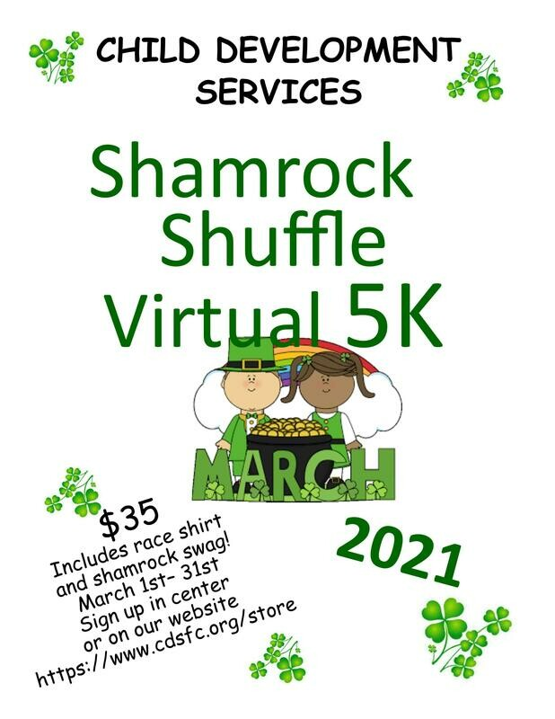 Shamrock Shuffle Virtual 5K Entry Ticket