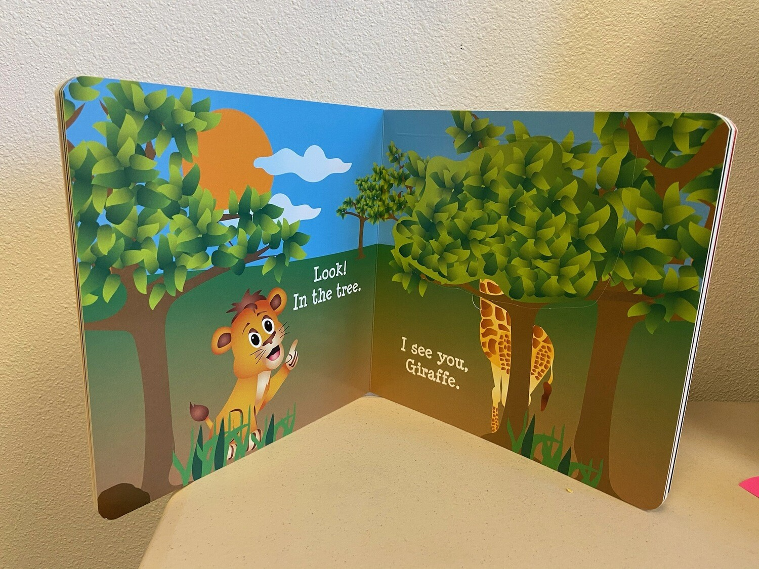 Hide and Go Seek with Lion - Buy One, Give One!