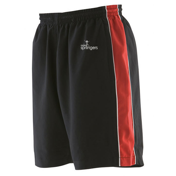 Adult piped shorts