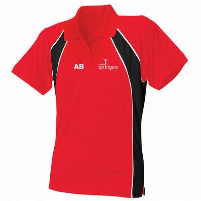 Ladies jersey team polo