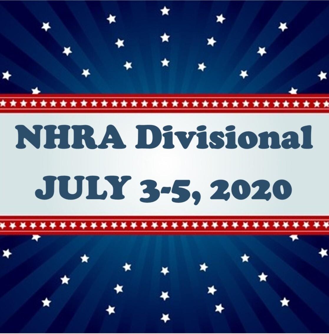 NHRA Divisional July 3-5, 2020