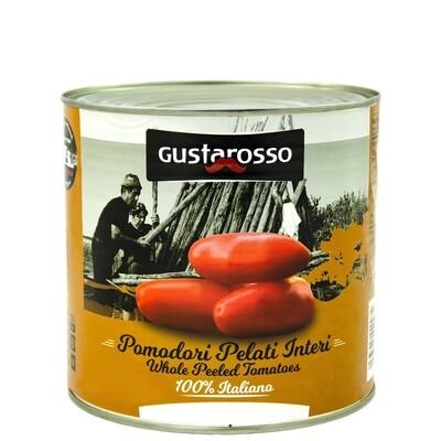 Pomodori pelati 100% italiani - latta da 2,5kg netti x 6pz