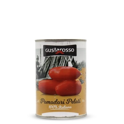 Pomodori Pelati 100% italiani 400gr netti x36 barattoli