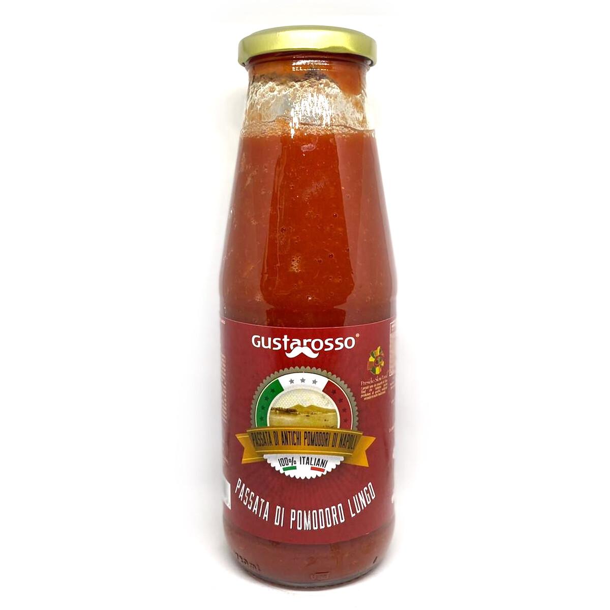 Passata di pomodoro lungo - Pomodori campani 100% italiani - conf 12 bottiglie