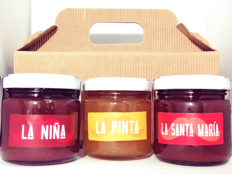 Le confetture di Pomodoro. 3 barattoli da 100gr - SPEDIZIONE INCLUSA