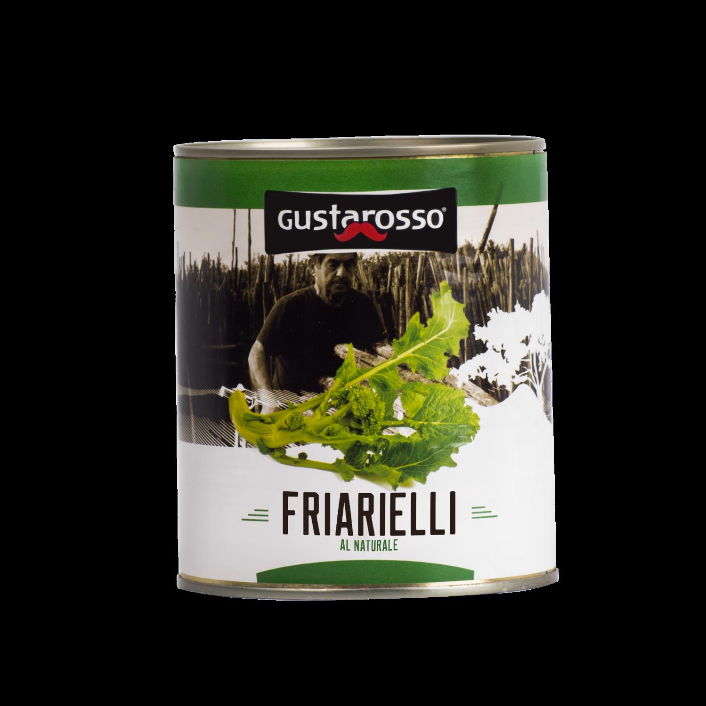 I Friarielli al Naturale - latta da 700gr netti x 12pz