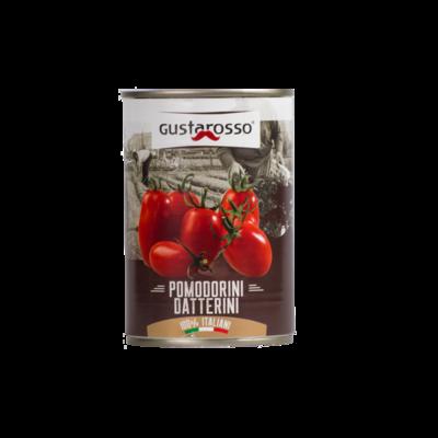 Pomodori datterini Gustarosso- latta da 400gr 36pz