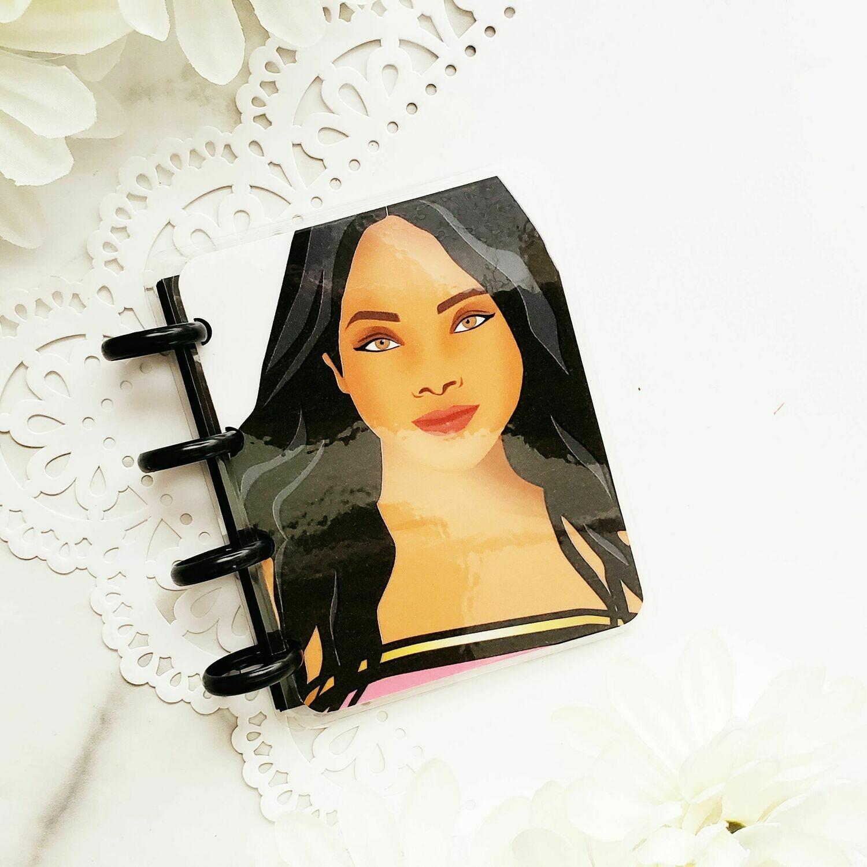 June Rose Micro Disc Bound Notebook