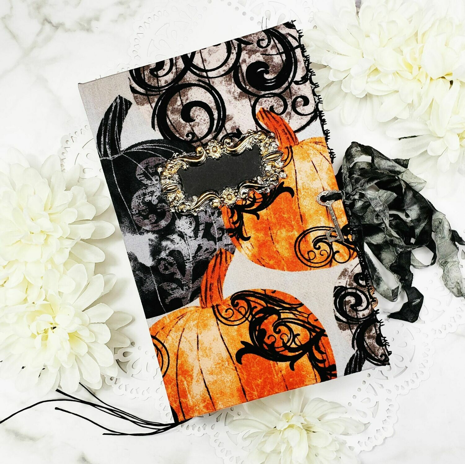 All Hallows Eve Handmade Junk Journal