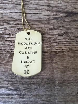 Brass dog tags