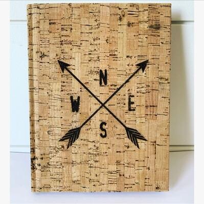 Crossed arrows - unlined journal