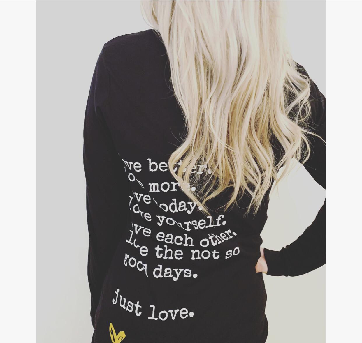 love better. long sleeve