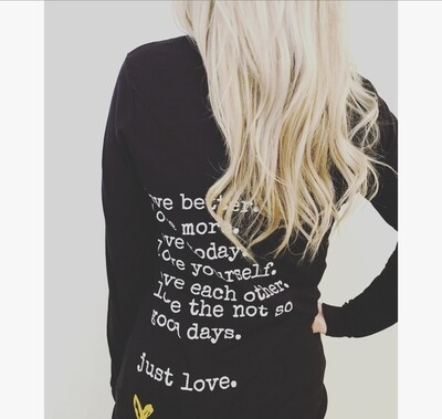 SALE - love better. long sleeve