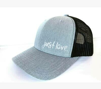 Just Love. Light grey