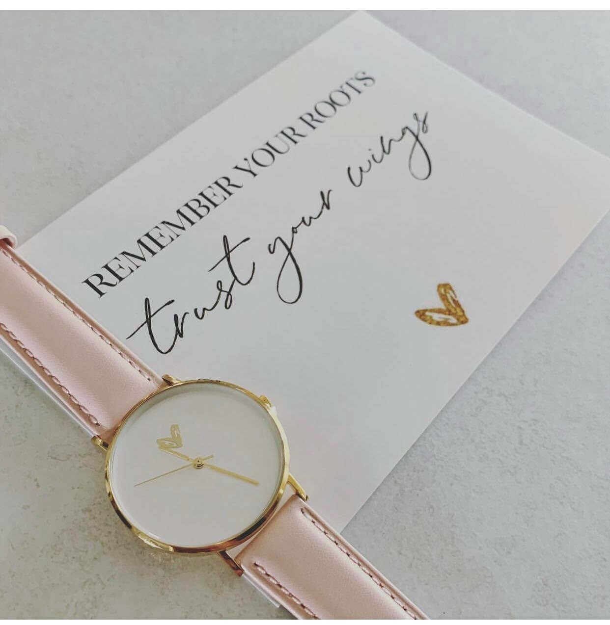 Simple gold watches