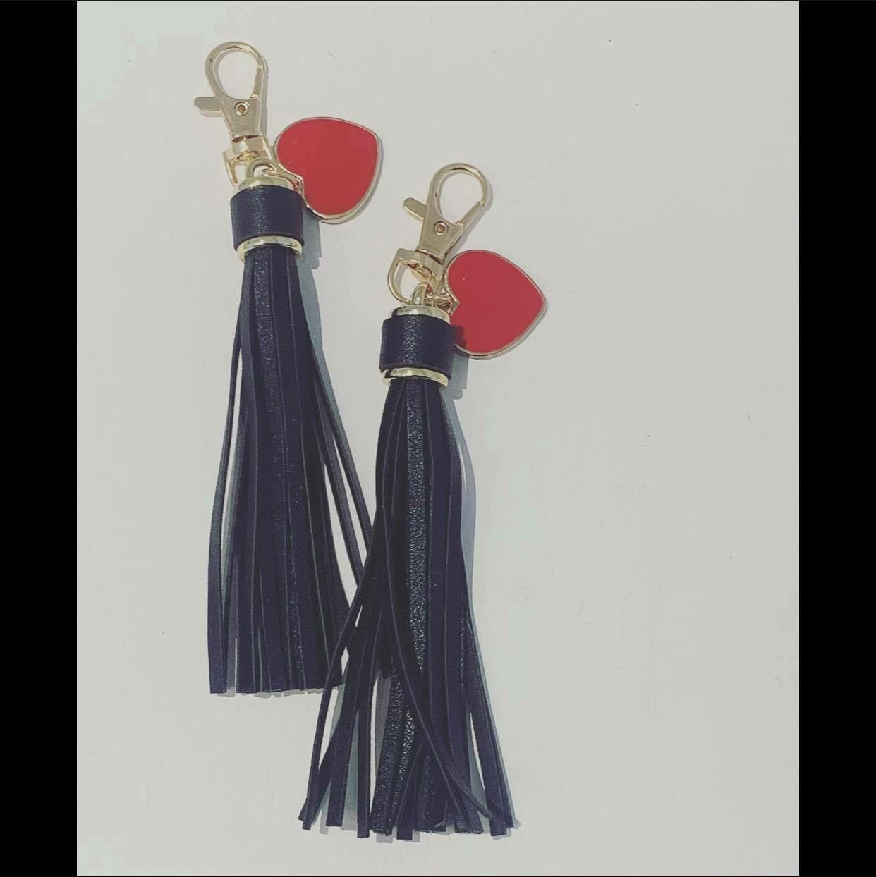 Tassel heart Key Chain