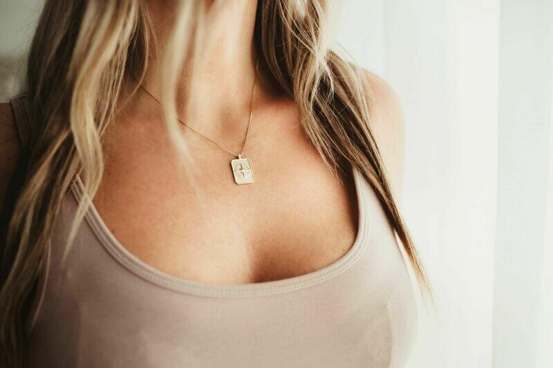 Compass Drop necklace