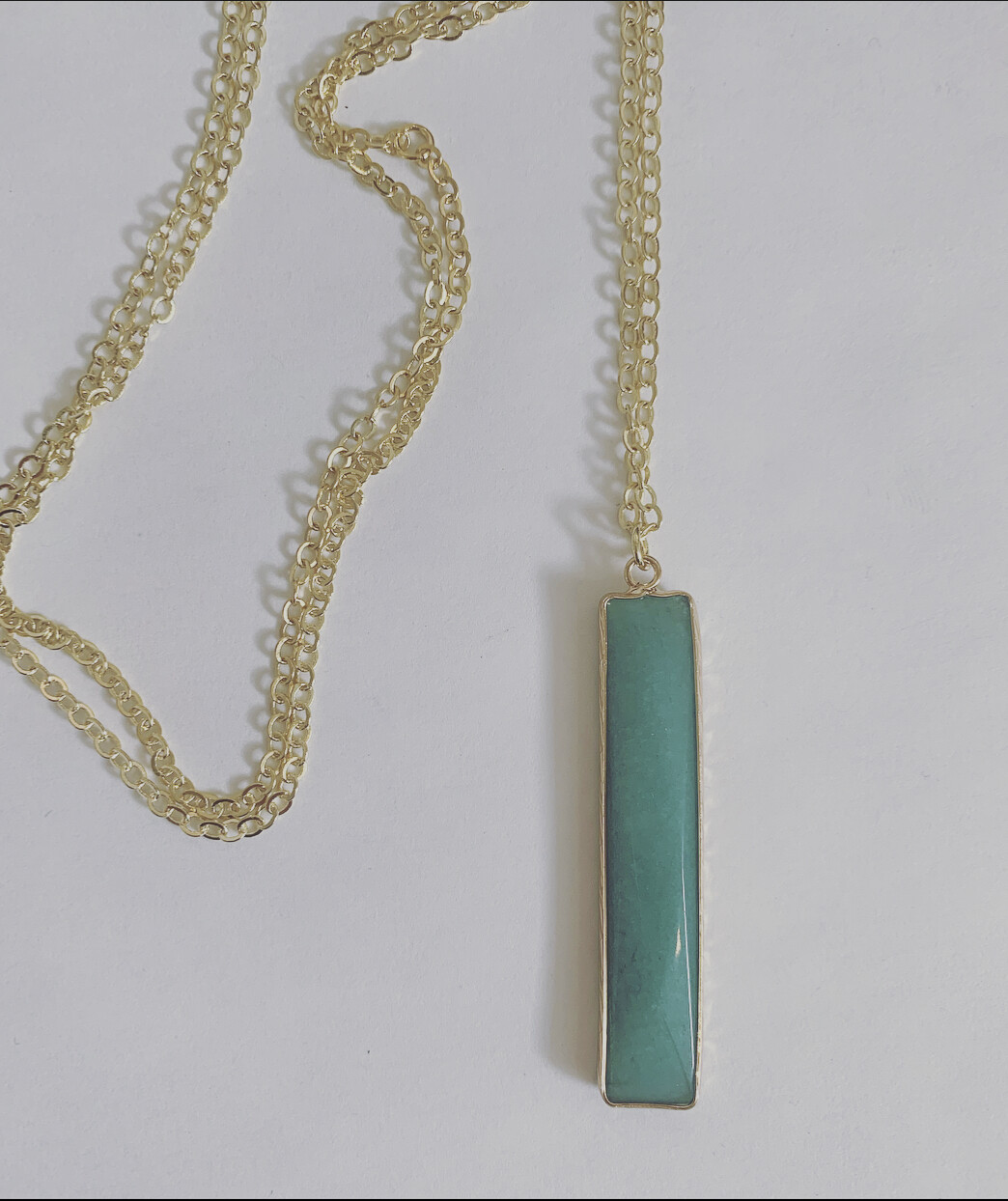Long Jade necklace